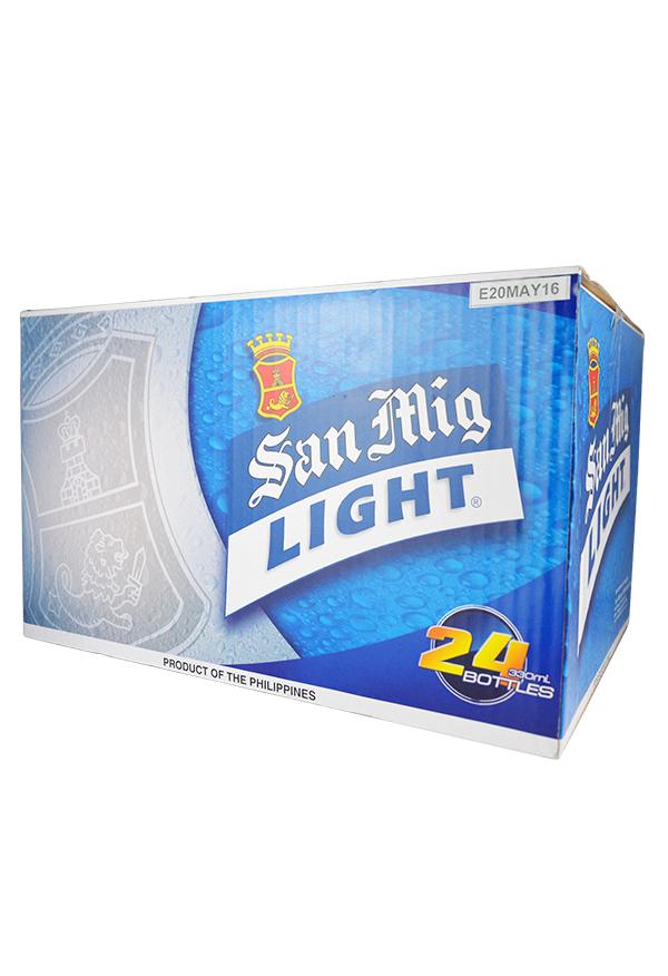 B-0014-San-Miguel-Light-Beer-Pint-Bottle-Pale-Pilsen-330mlX24